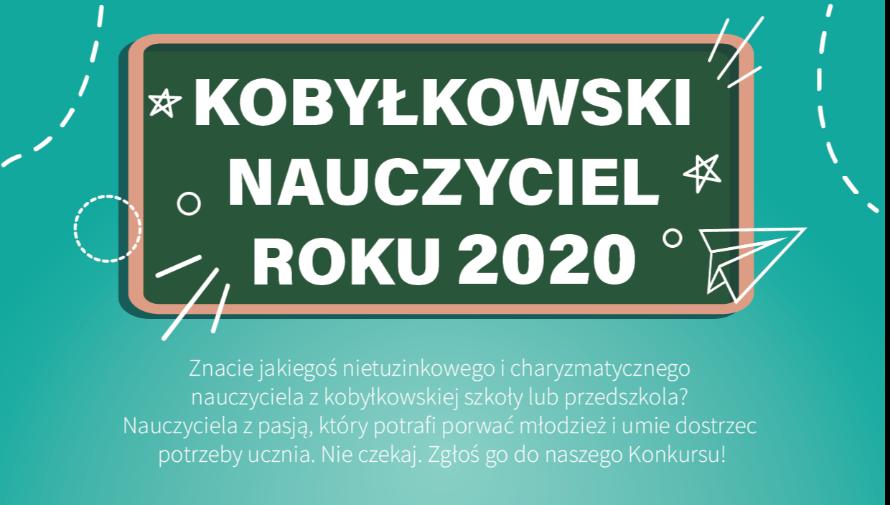 Konkurs -  Kobyłkowski Nauczyciel Roku 2020