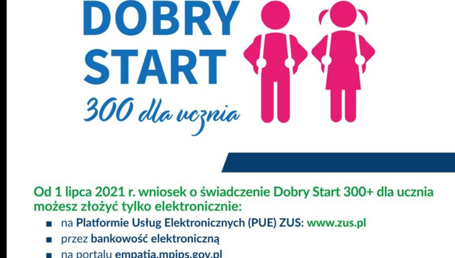 """""""Dobry Start 300+ dla ucznia"""" - dyżur eksperta"""